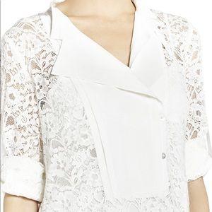 Bcbgmaxazria White Lace Summer Dress 80% off MSRP!
